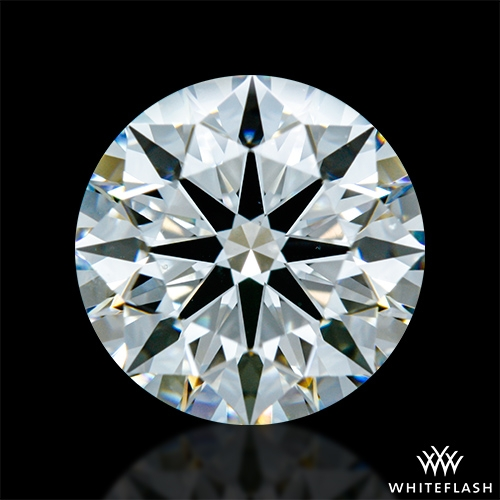 1.906 ct G VS2 A CUT ABOVE® Hearts and Arrows Super Ideal Round Cut Loose Diamond