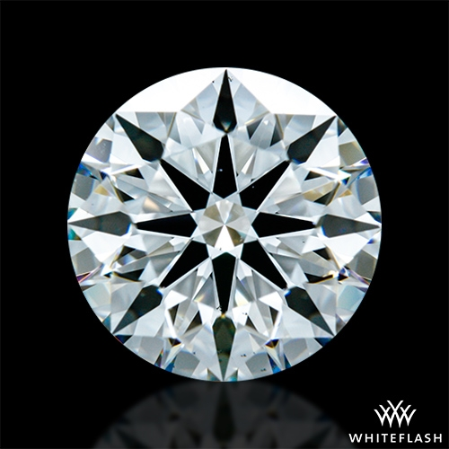 1.816 ct F VS2 A CUT ABOVE® Hearts and Arrows Super Ideal Round Cut Loose Diamond