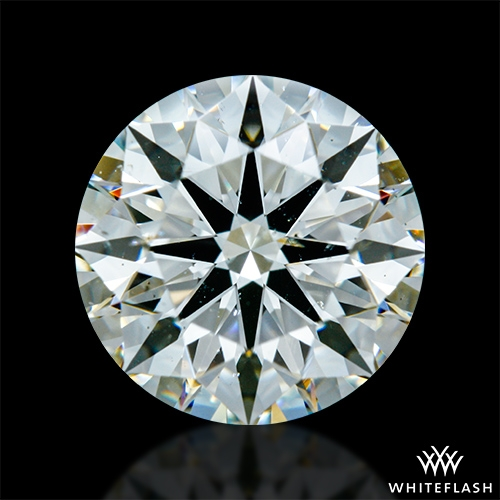 1.908 ct K SI1 A CUT ABOVE® Hearts and Arrows Super Ideal Round Cut Loose Diamond