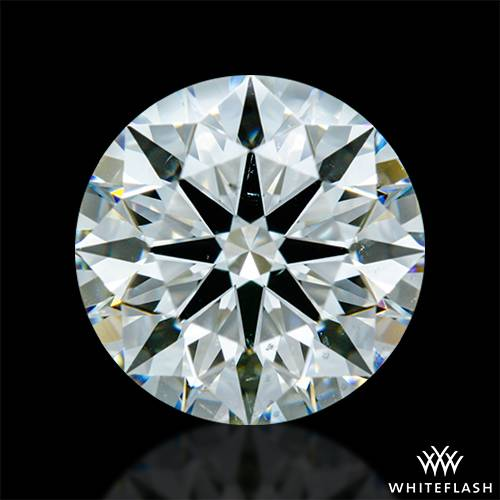 1.858 ct J VS2 A CUT ABOVE® Hearts and Arrows Super Ideal Round Cut Loose Diamond