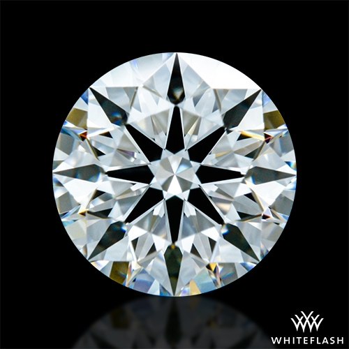 1.05 ct F VS1 A CUT ABOVE® Hearts and Arrows Super Ideal Round Cut Loose Diamond