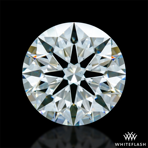 1.091 ct G VS1 A CUT ABOVE® Hearts and Arrows Super Ideal Round Cut Loose Diamond