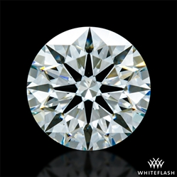 0.846 ct I VS2 A CUT ABOVE® Hearts and Arrows Super Ideal Round Cut Loose Diamond