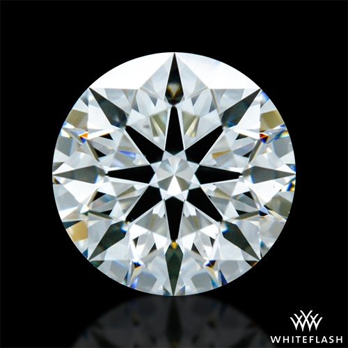 0.834 ct H VS2 A CUT ABOVE® Hearts and Arrows Super Ideal Round Cut Loose Diamond