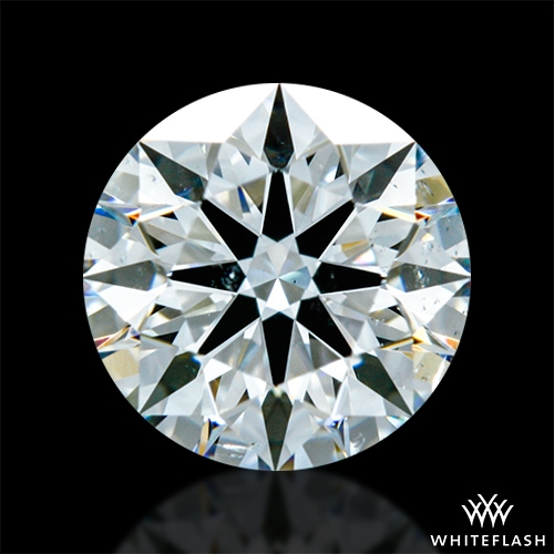 0.853 ct H SI1 Expert Selection Round Cut Loose Diamond
