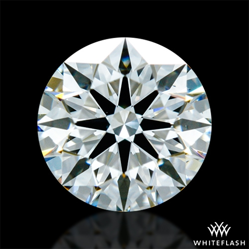 0.841 ct I VS2 A CUT ABOVE® Hearts and Arrows Super Ideal Round Cut Loose Diamond