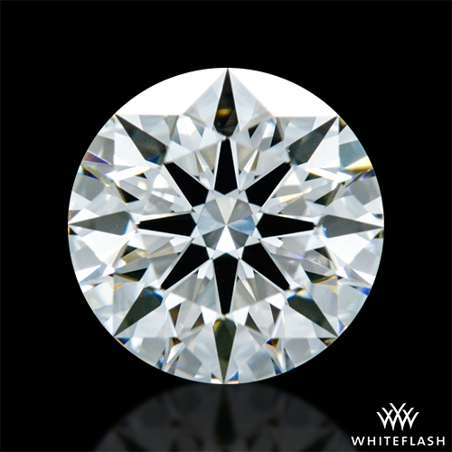 0.826 ct J VS2 A CUT ABOVE® Hearts and Arrows Super Ideal Round Cut Loose Diamond