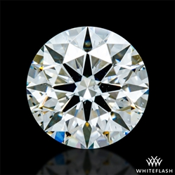 0.752 ct I SI1 A CUT ABOVE® Hearts and Arrows Super Ideal Round Cut Loose Diamond