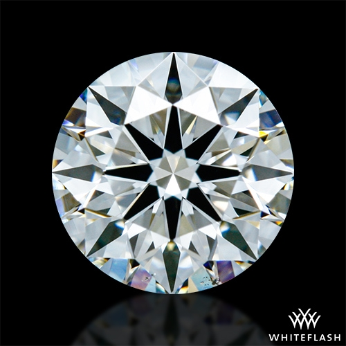 0.888 ct I VS2 A CUT ABOVE® Hearts and Arrows Super Ideal Round Cut Loose Diamond