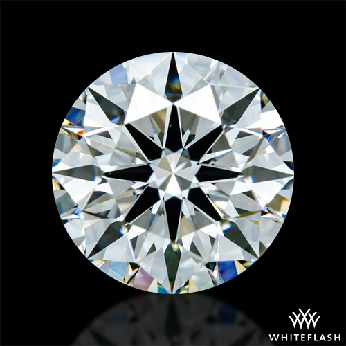 0.858 ct I VS1 A CUT ABOVE® Hearts and Arrows Super Ideal Round Cut Loose Diamond