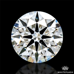 0.874 ct H SI1 A CUT ABOVE® Hearts and Arrows Super Ideal Round Cut Loose Diamond