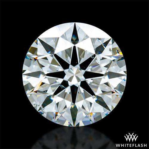 0.814 ct I SI1 A CUT ABOVE® Hearts and Arrows Super Ideal Round Cut Loose Diamond