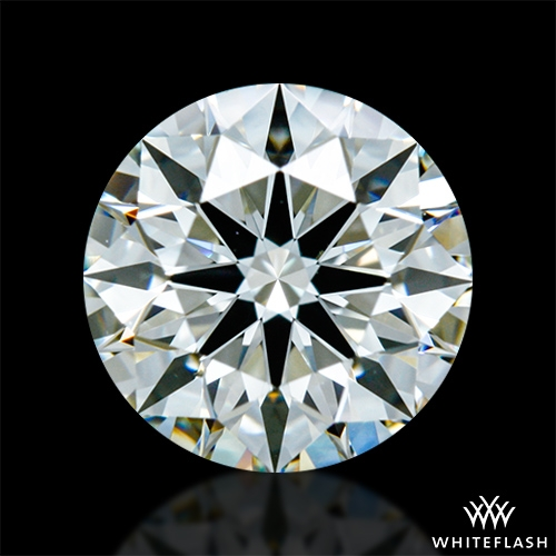 0.878 ct J VS2 A CUT ABOVE® Hearts and Arrows Super Ideal Round Cut Loose Diamond