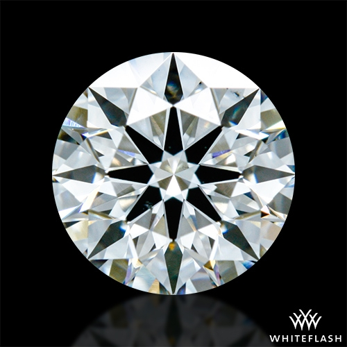 0.837 ct G VS2 A CUT ABOVE® Hearts and Arrows Super Ideal Round Cut Loose Diamond