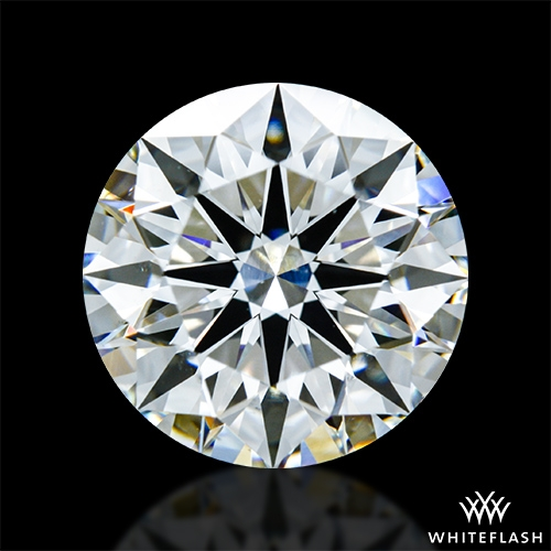 2.728 ct H SI1 A CUT ABOVE® Hearts and Arrows Super Ideal Round Cut Loose Diamond
