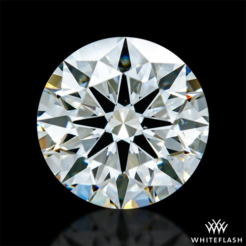 1.323 ct J VS2 A CUT ABOVE® Hearts and Arrows Super Ideal Round Cut Loose Diamond