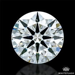 0.875 ct G SI1 A CUT ABOVE® Hearts and Arrows Super Ideal Round Cut Loose Diamond