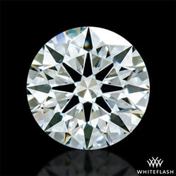 0.503 ct J VS2 A CUT ABOVE® Hearts and Arrows Super Ideal Round Cut Loose Diamond