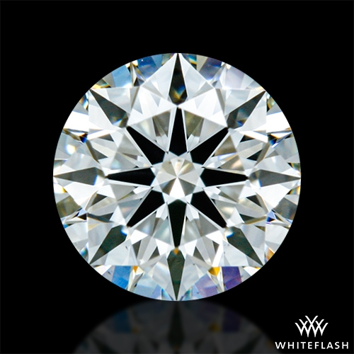 0.533 ct J VS1 A CUT ABOVE® Hearts and Arrows Super Ideal Round Cut Loose Diamond