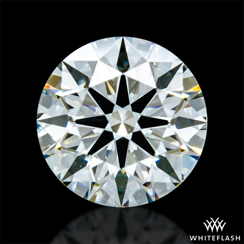 0.751 ct I SI1 A CUT ABOVE® Hearts and Arrows Super Ideal Round Cut Loose Diamond