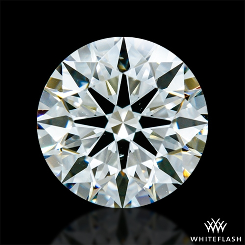 1.096 ct J VS2 A CUT ABOVE® Hearts and Arrows Super Ideal Round Cut Loose Diamond