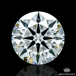 1.542 ct H SI1 A CUT ABOVE® Hearts and Arrows Super Ideal Round Cut Loose Diamond