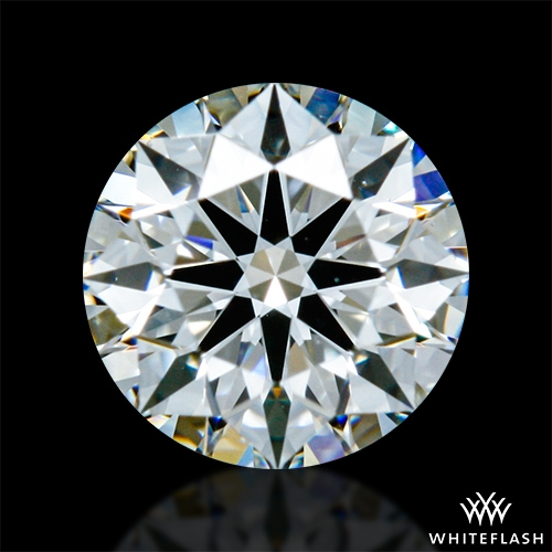 0.414 ct G VS2 A CUT ABOVE® Hearts and Arrows Super Ideal Round Cut Loose Diamond