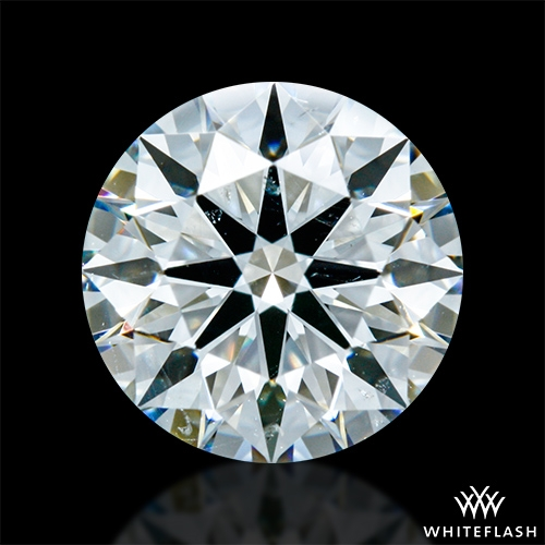 1.327 ct H SI1 A CUT ABOVE® Hearts and Arrows Super Ideal Round Cut Loose Diamond