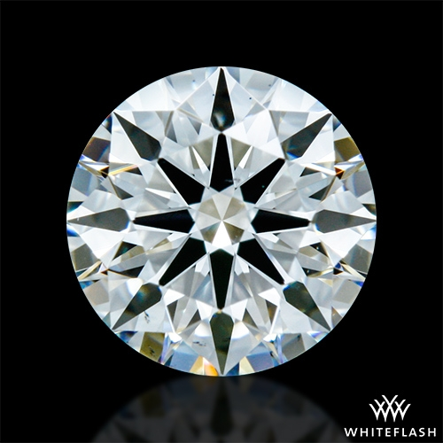 0.903 ct H VS2 A CUT ABOVE® Hearts and Arrows Super Ideal Round Cut Loose Diamond