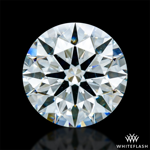 0.874 ct G SI1 A CUT ABOVE® Hearts and Arrows Super Ideal Round Cut Loose Diamond