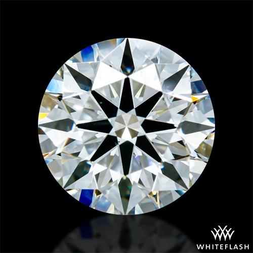 0.873 ct I SI1 A CUT ABOVE® Hearts and Arrows Super Ideal Round Cut Loose Diamond