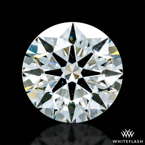 1.095 ct J SI1 A CUT ABOVE® Hearts and Arrows Super Ideal Round Cut Loose Diamond