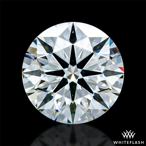 3.267 ct G VS2 A CUT ABOVE® Hearts and Arrows Super Ideal Round Cut Loose Diamond