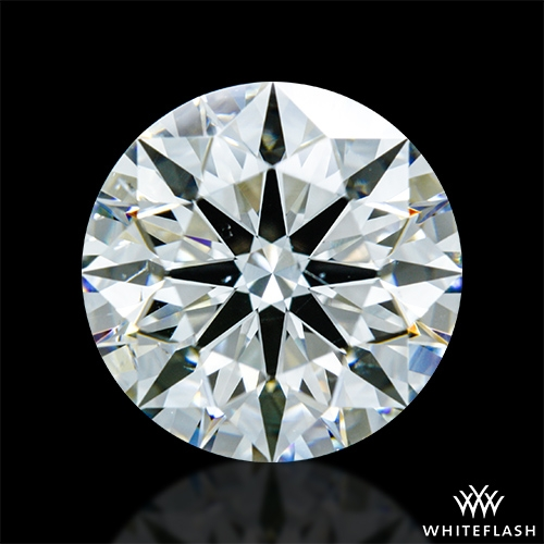 2.136 ct H SI1 A CUT ABOVE® Hearts and Arrows Super Ideal Round Cut Loose Diamond