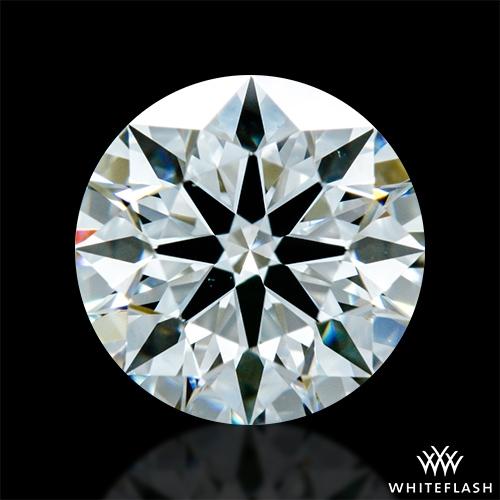 0.94 ct H VS1 A CUT ABOVE® Hearts and Arrows Super Ideal Round Cut Loose Diamond