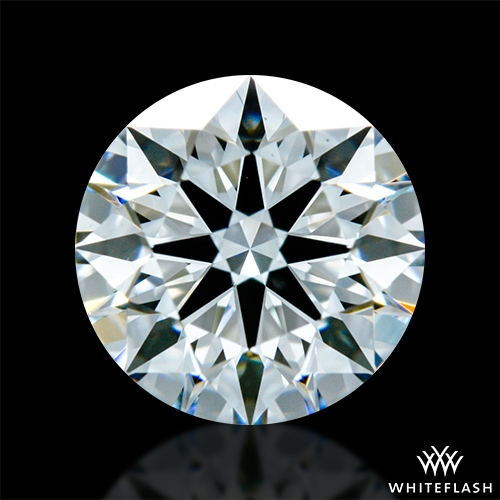 0.876 ct G VS1 A CUT ABOVE® Hearts and Arrows Super Ideal Round Cut Loose Diamond