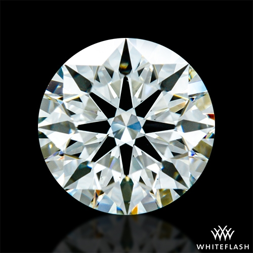 1.118 ct J VS2 A CUT ABOVE® Hearts and Arrows Super Ideal Round Cut Loose Diamond