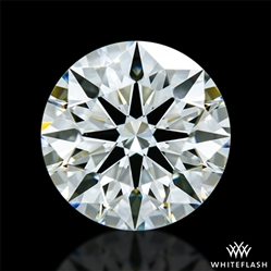 1.053 ct J VS1 A CUT ABOVE® Hearts and Arrows Super Ideal Round Cut Loose Diamond