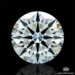 1.013 ct H VS2 A CUT ABOVE® Hearts and Arrows Super Ideal Round Cut Loose Diamond