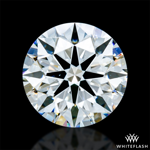 1.211 ct F VS2 A CUT ABOVE® Hearts and Arrows Super Ideal Round Cut Loose Diamond