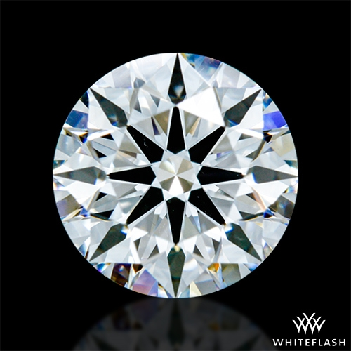 1.217 ct F VS2 A CUT ABOVE® Hearts and Arrows Super Ideal Round Cut Loose Diamond
