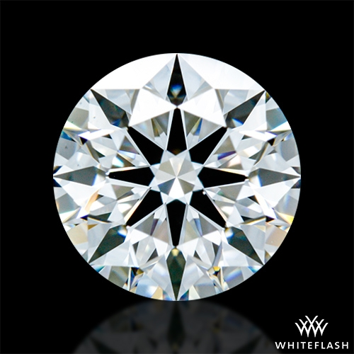 1.294 ct F VS1 A CUT ABOVE® Hearts and Arrows Super Ideal Round Cut Loose Diamond