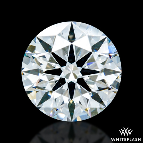 0.822 ct G VS2 A CUT ABOVE® Hearts and Arrows Super Ideal Round Cut Loose Diamond