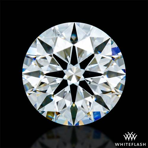 0.806 ct F VS1 A CUT ABOVE® Hearts and Arrows Super Ideal Round Cut Loose Diamond