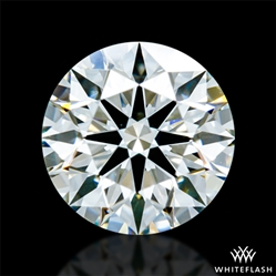 0.862 ct I VS1 A CUT ABOVE® Hearts and Arrows Super Ideal Round Cut Loose Diamond