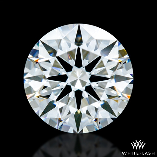 0.712 ct F VVS2 A CUT ABOVE® Hearts and Arrows Super Ideal Round Cut Loose Diamond