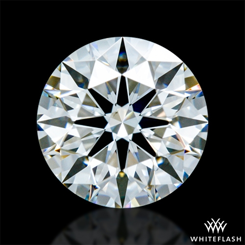 0.62 ct F VS1 A CUT ABOVE® Hearts and Arrows Super Ideal Round Cut Loose Diamond