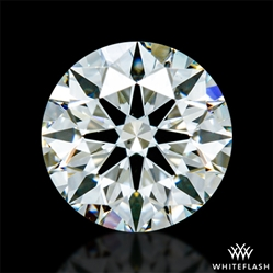 0.601 ct J VS2 A CUT ABOVE® Hearts and Arrows Super Ideal Round Cut Loose Diamond