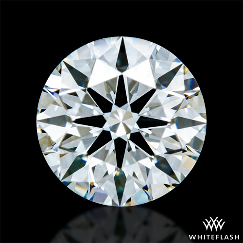 0.633 ct F VVS1 A CUT ABOVE® Hearts and Arrows Super Ideal Round Cut Loose Diamond