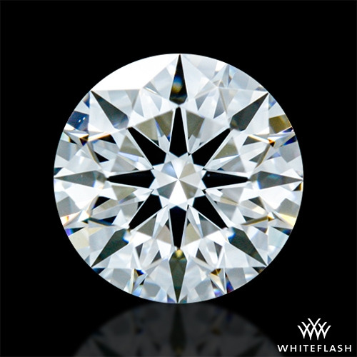 0.635 ct F VVS2 A CUT ABOVE® Hearts and Arrows Super Ideal Round Cut Loose Diamond